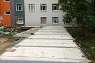 Монтаж здания под МРТ