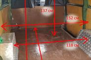 Размеры и фото фургона