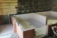 Внутренняя отделка бани 6х6