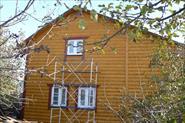 Облицовка дома блок-хаус