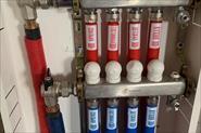 Замена системы отопления на пекс Рехау