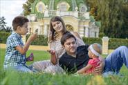 Семейная фотопрогулка в парке Кусково.