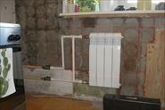 Демонтаж/монтаж радиатора отопления