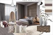 Планировка квартиры 56 м.кв. и подбор цветового решения и мебели (коллажи)