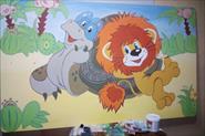 Оформление веранды детского сада