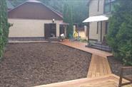 Реконструкция садовых дорожек.