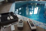 Оборудование для измерения показателей воды в бассейне