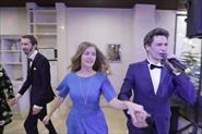Свадьба Владимира и Полины 24 ноября, ресторан Карибиа. Ведущий Влад Новиков.