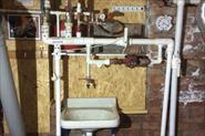 монтаж отопления  в подвале частного дома