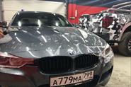 Бронирование капота и оптики BMW 3