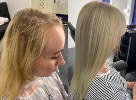Окрашивания, причёски, кератиновое выпрямление