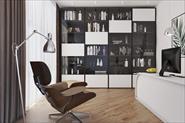 Визуализация Дизайн кабинета.