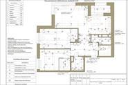Пример технического дизайн-проекта:1)Планы расстановки осветительных приборов,  розеток и т.д.