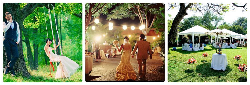 идеи свадебных фотосессий летом