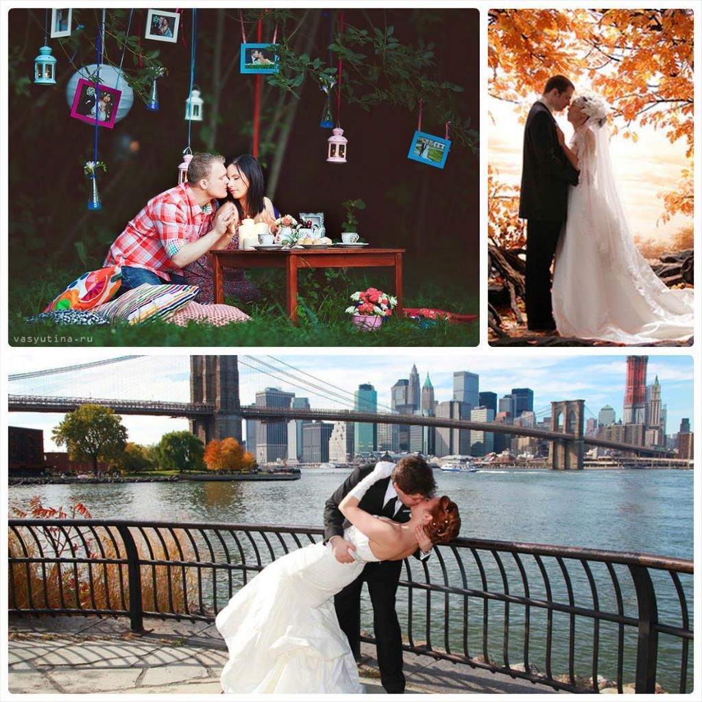 свадьба осень фотосессия