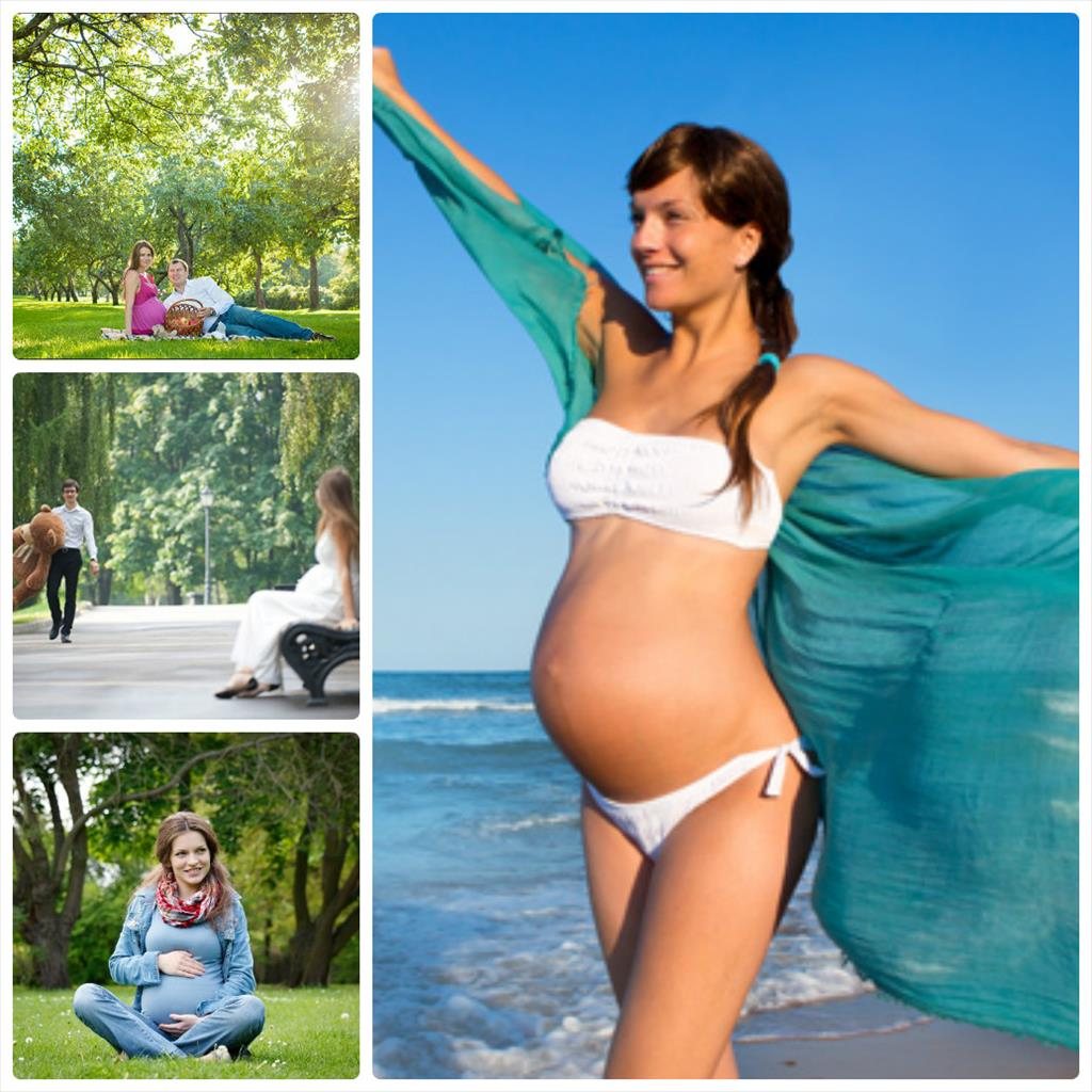 фотосессии для беременных идеи на природе