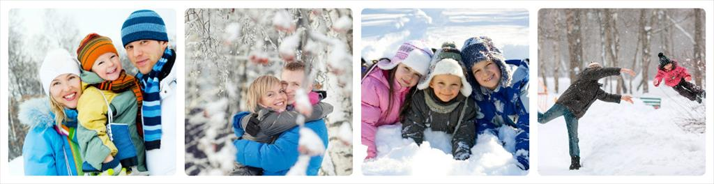 идеи для фотосессии зимой на улице